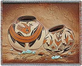 BLACK FOREST DECOR Zuni Pottery Blanket