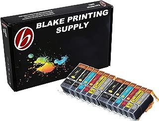 Blake Printing Supply Ink Cartridge for Inkjet Printer, 12-Pack (2 Small Black, 2 Cyan, 2..