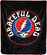 Grateful Dead Steal Your Face High Pile Queen Size Blanket