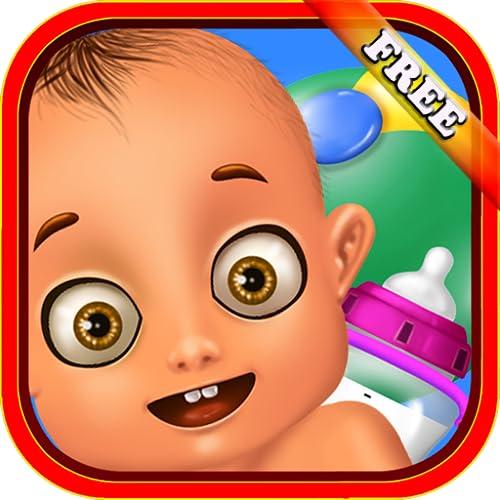 Neugeborene Babypflege: Ein wunderbares Spiel der Babypflege - spielen Sie bei Mama oder Babysitter! KOSTENLOS