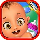 Soins du nouveau-né: Un merveilleux jeu de soins pour bébé - jouer à être maman ou baby-sitter! GRATUIT