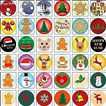Motivbåge dekalbåge nr 42 med 36 självhäftande motiv jul för skåp lådor, byrå för XpressGuru DIY möbelknopp – tillverkad i...