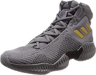 adidas Performance Mens Pro Bounce 2018 Basketball Shoes Grey - 15US