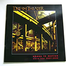 Dream Theater Chaos In Motion World Tour 2007-2008 Book