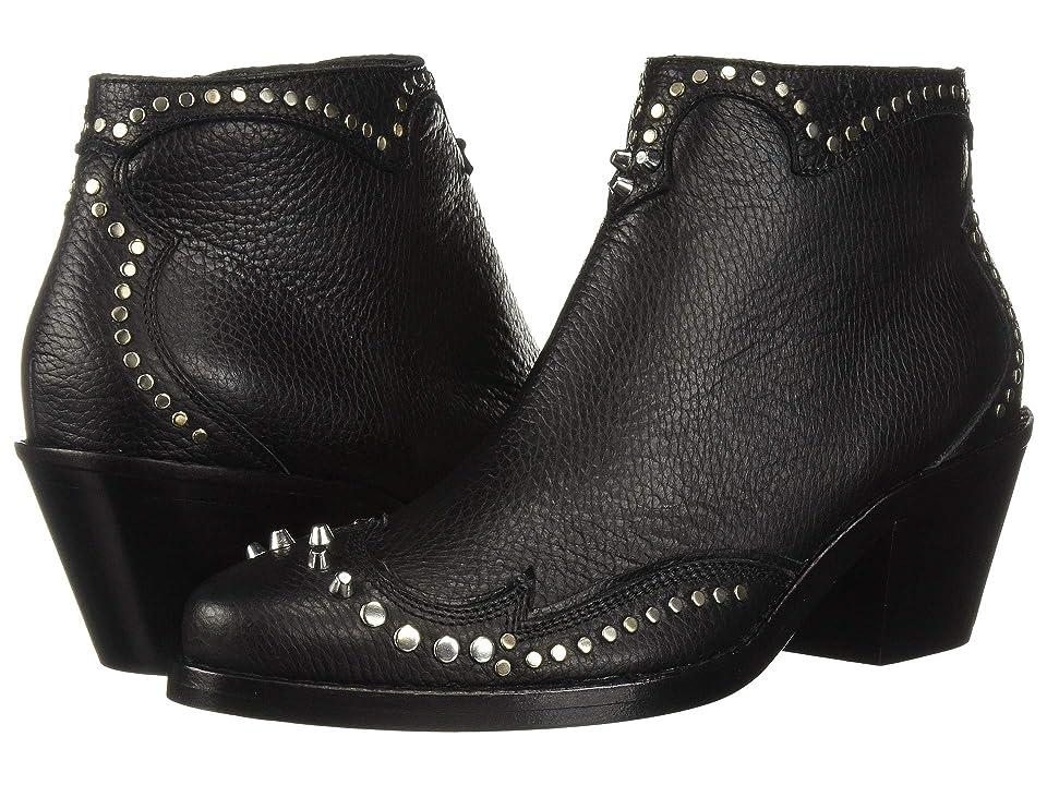 McQ New Solstice Zip Boot (Black) Women