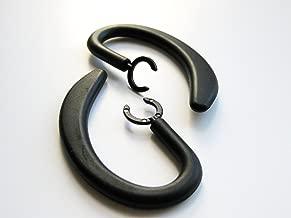 NICKSTON 2 Unbreakable Earhooks Compatible with Motorola HX1 Endeavor HX-1 and Finiti Wireless Headset Ear Hook Loop Clip Earhook Hooks Loops Clips Earloop Earclip Earloops