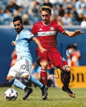 Djordje Mihailovic signed Chicago Fire MLS Soccer 8x10 photo autographed 3 - Autographed Soccer Photos