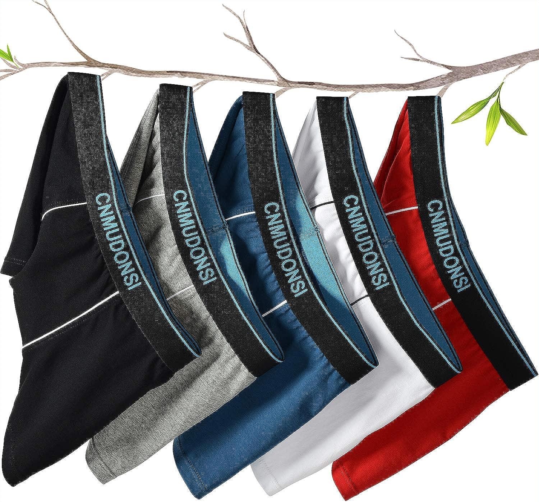 CNMUDONSI Boys Underwear Size 5-16 Teen Boxer Briefs 5 Pack