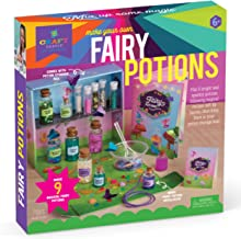 Craft-tastic DIY Fairy Potions – Award-Winning Craft Kit for Kids – Includes Fairy Potion Book with Magical Recipies, Ench...