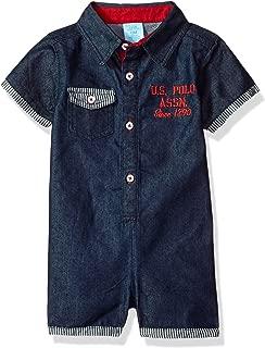 U.S. Polo Assn. Baby Boy's Romper Shorts