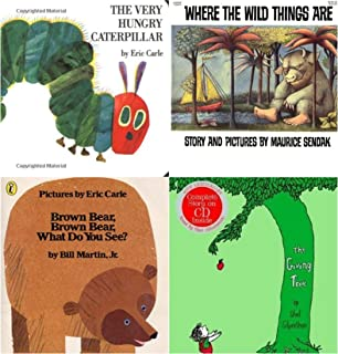 Four Picture Books Collection-III ( The Very Hungry Caterpillar / Brown Bear, Brown Bear, What Do...