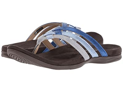 Spenco Triple Strap (Blue/Silver) Women
