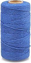 jijAcraft 2MM Katoen String 100M Blauw String voor Ambachten Gift Wrapping Verpakking
