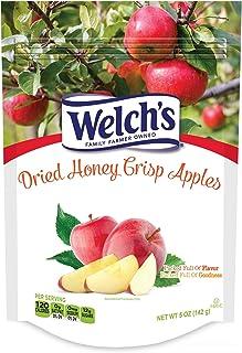 Welch's, Dried Fruit, 5oz Bag (Pack of 4) (Choose Flavors) (Honey Crisp Apple)