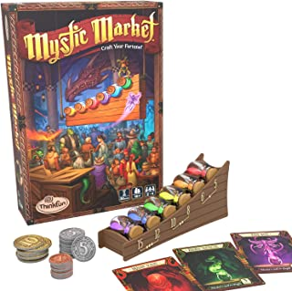 ThinkFun Mystic Market Strategy Card Game for 2-4 Players Ages 10 and Up – an Exciting Fast Paced Game Perfect for Both Fa...
