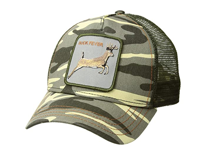 Goorin Brothers  Animal Farm Snap Back Trucker Hat (Camo 4 Points) Caps