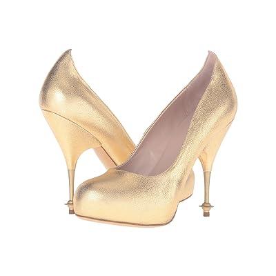 Vivienne Westwood Drama Court (Gold) High Heels