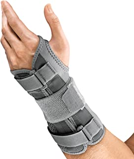 Futuro Deluxe Wrist Stabilizer, Firm Stabilizing Support, Left Hand, Large/X-Large, Gray