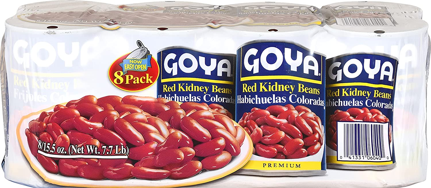 Ranking integrated 1st place Goya Red Kidney Beans 124 Pack Fresno Mall 36 of Ounce