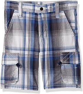Wrangler Authentics Boys' Fashion Plaid Cargo Short