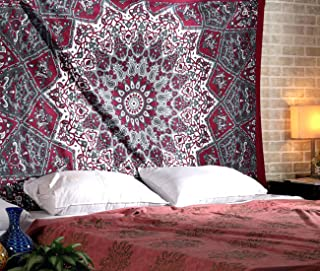 Best maroon and black tapestry Reviews