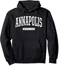 Annapolis Hoodie Sweatshirt College University Style MD USA