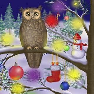 Xmas Owl of a Season Live Wallpaper Free