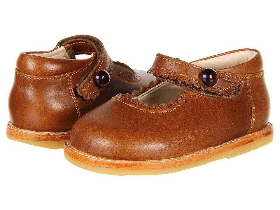 Elephantito Mary Jane (Toddler) (Cracked Apache) Girls Shoes