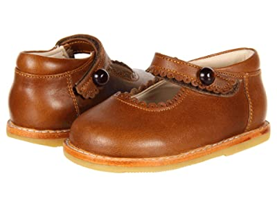 Elephantito Mary Jane (Toddler) (Cracked Apache) Girls Shoes