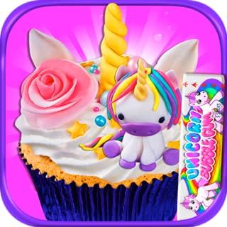 Unicorn Dessert Food Maker - Rainbow Cooking Games Kids FREE