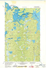 YellowMaps Iron Lake MN topo map, 1:24000 Scale, 7.5 X 7.5 Minute, Historical, 1963, Updated 1986, 27.23 x 21.53 in