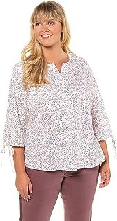 X Two linterpol chemisier tunique T shirt femme superposé plusgröße taille 52