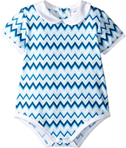 Jersey Zigzag All Over Printed One-Piece (Infant)