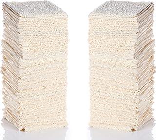 "Simpli-Magic 79220 Beige Cotton Washcloths, 12"" x 12"", 24 Pack"