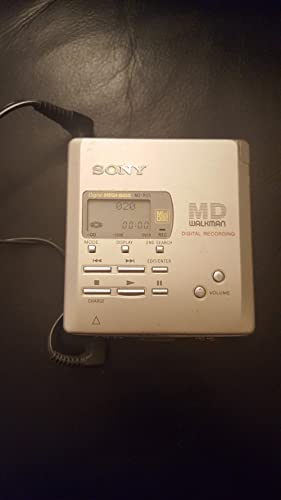 Sony MZ-R55 Portable MiniDisc Player and Recorder