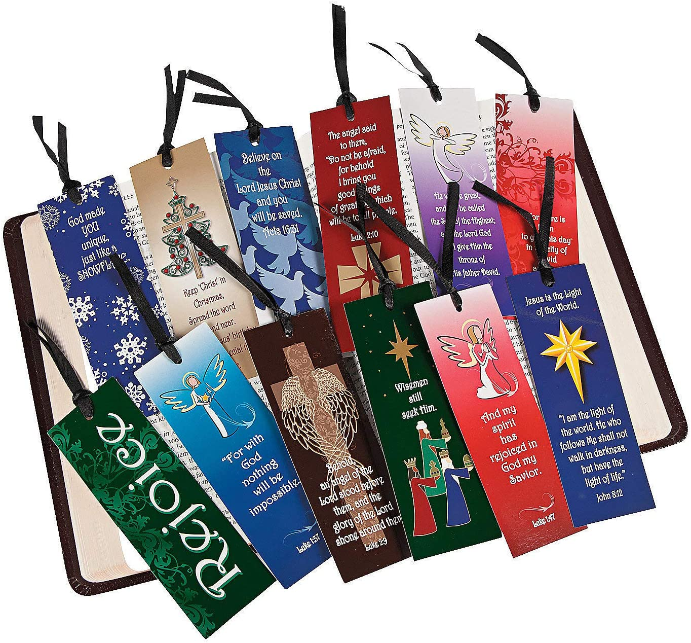 Fun Express Mega Christmas Religious Assortment S Ranking TOP15 Max 64% OFF Bulk Bookmark
