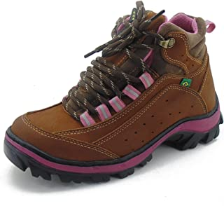 Coturno adventure para trilha Atron Shoes 019 castor