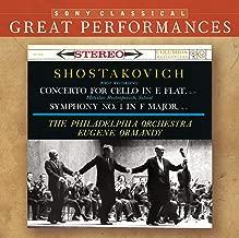Shostakovich: Concerto for Cello in E flat / Symphony No. 1 in F Major