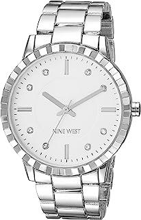 Women's Crystal Accented Bracelet Watch