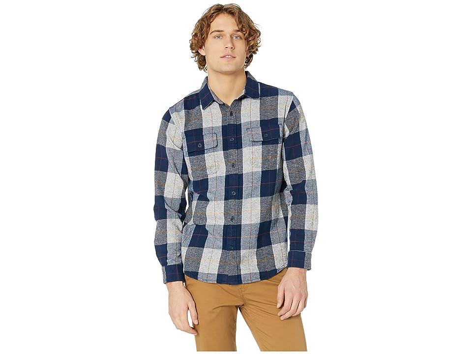 Rip Curl Shoreline Flannel Shirt (Navy) Men