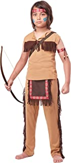 California Costumes Native American Brave Child Costume, Medium