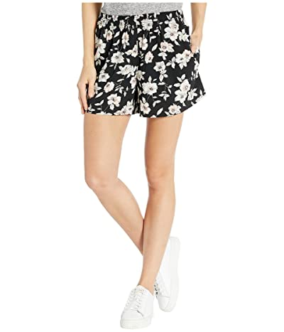 Volcom Servin Up Looks Shorts (Black Floral Print) Women