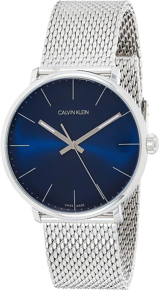 Calvin klein, orologio unisex , analogico-digitale al quarzo, in acciaio inossidabile K8M2112N