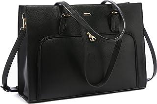 Laptop Bag for Women 15.6 inch Waterproof Work Tote Bag with USB Charging Port Computer Teacher Handbag Shoulder Bag