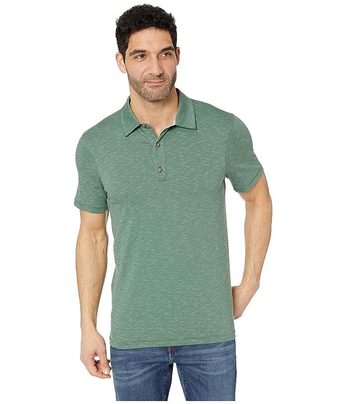 Toad&Co Tempo Short Sleeve Polo (Duck Green) Men