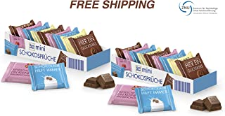 Mini Chocolate Sweets - Chocolate Variety 2 x 150 g, Ritter Sport/Germany