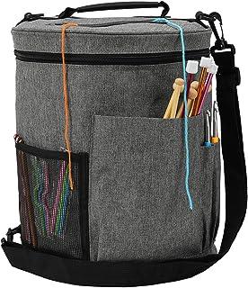 Sac à Tricoter Portable, Sac Crochet pour Aiguilles à Tricoter pour Fils, Crochets, Aiguilles à Tricoter et Autres Petits ...