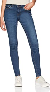 9850f1306a98 Noisy May - Nmlucy Nw Pckt Piping Jeans Vi877db Noos, Jeans Slim Donna