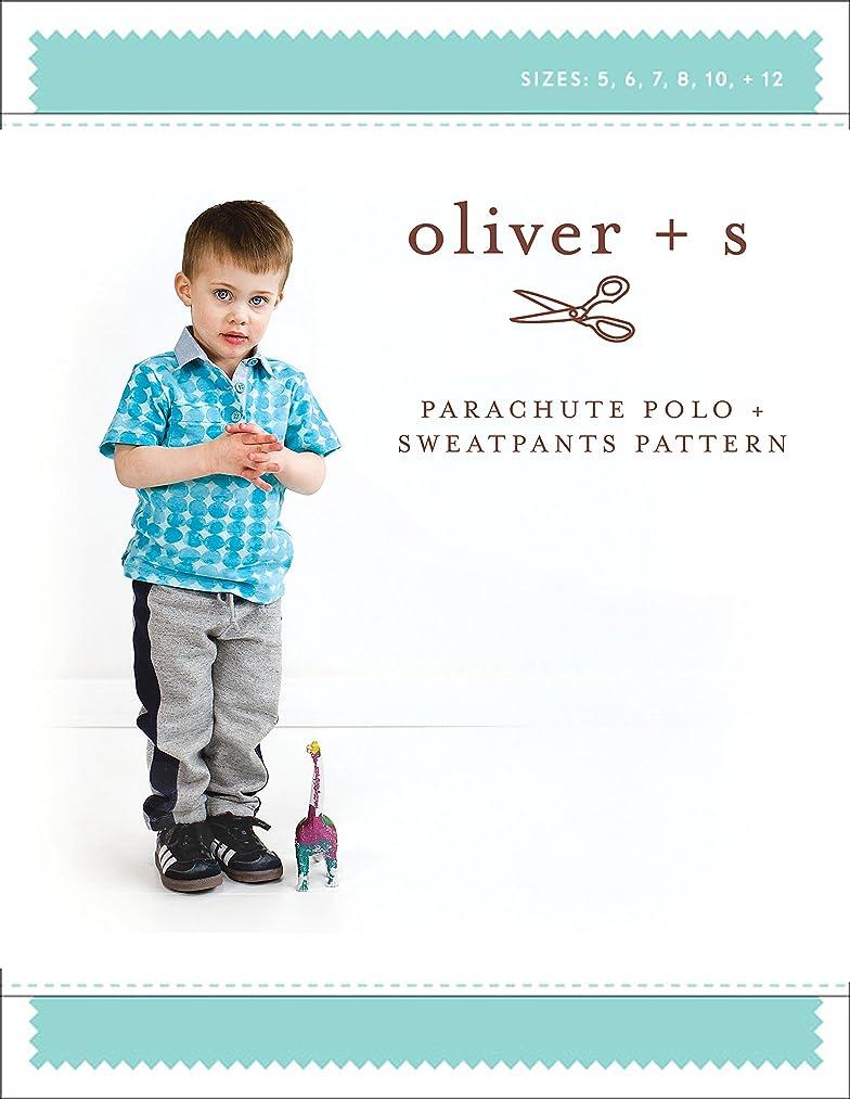 Parachute Polo + Sweatpants Sewing Pattern (Sizes 5-12)