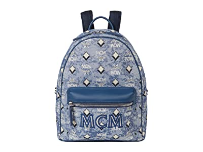MCM Vintage Jacquard Small Backpack